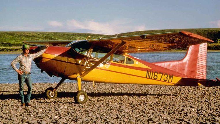 De onbekende Duitse piloot vloog in een privévliegtuig Beeld Wikimedia