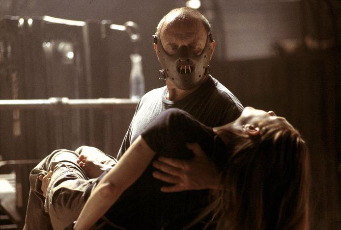 Acteur Anthony Hopkins als de psychopaat Hannibal Lecter.