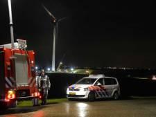 Twee doden bij brand windmolen