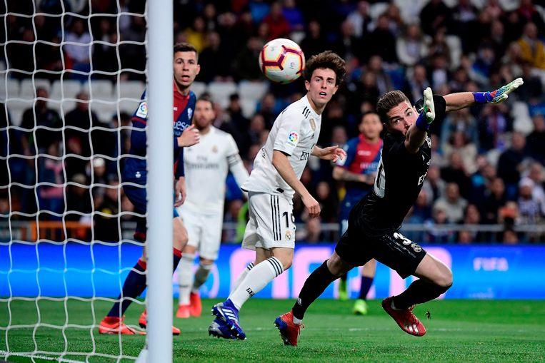 Luca Zidane al meteen geklopt.