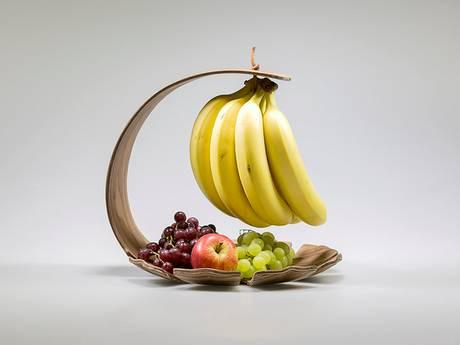 Dit is Skoal, de banaanhangfruitschaal