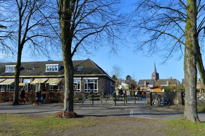 Openbare basisschool Bienekebolders verliet vier jaar geleden de Bosstraat in Moergestel.