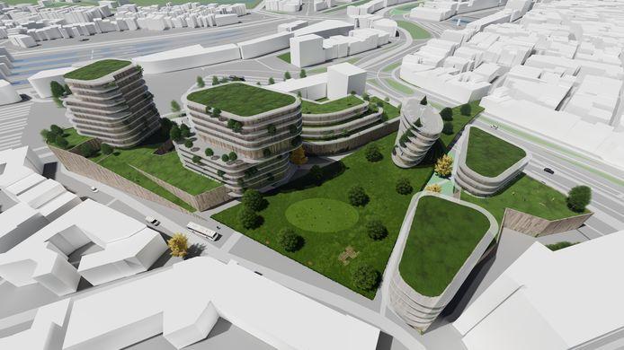 Gebiedsvisie Coehoorn Arnhem van Palazzo BV/Spring Real Estate
