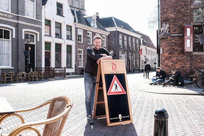 Roy Kappert van De Waag, het oudste horecapand van Nederland.
