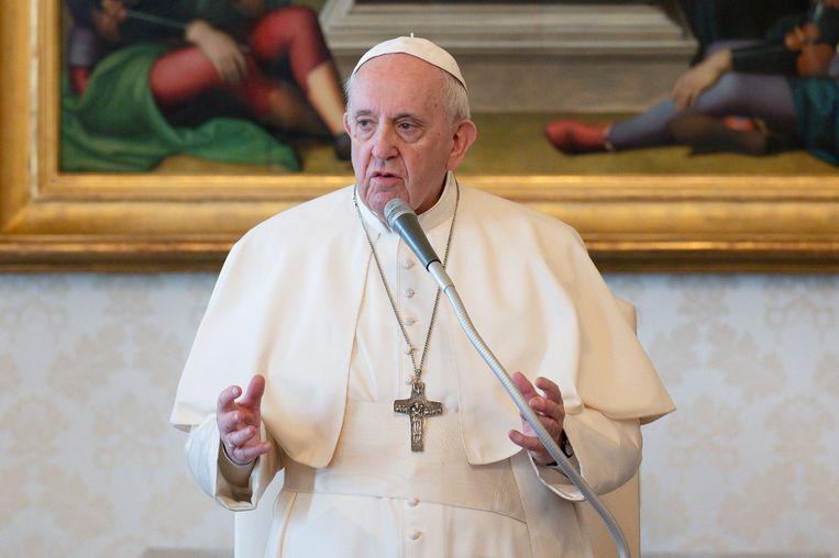 Ook in het Vaticaan wordt de tering naar de nering gezet. Beeld Photo News