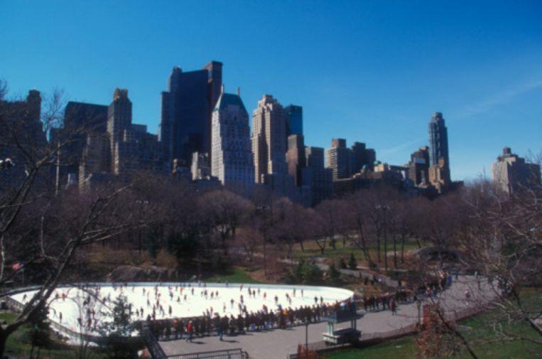 De Wollman Rink in New York Beeld UNKNOWN