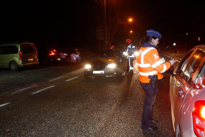 Politie trok het rijbewijs van de man meteen in.