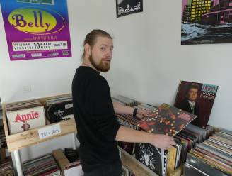 """Deinze heeft na 10 jaar opnieuw een platenwinkel: """"Thuis beginnen en binnen een jaar 'Coffee, Beer & Vinyl' in stadscentrum"""""""