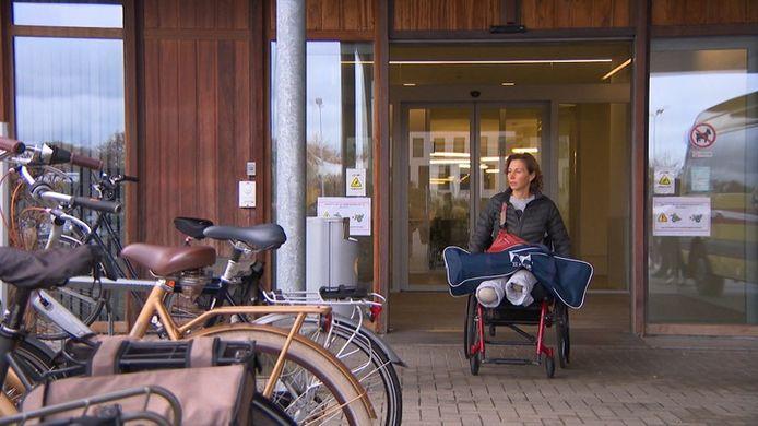 Marion Van Reeth verloor haar beide benen na de aanslag in New York in 2017.