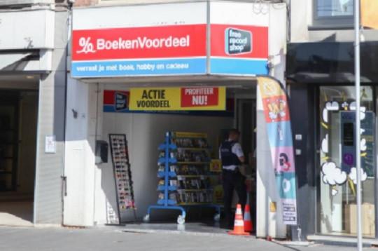Archiefbeel: filiaal van Boekenvoordeel in Mortsel