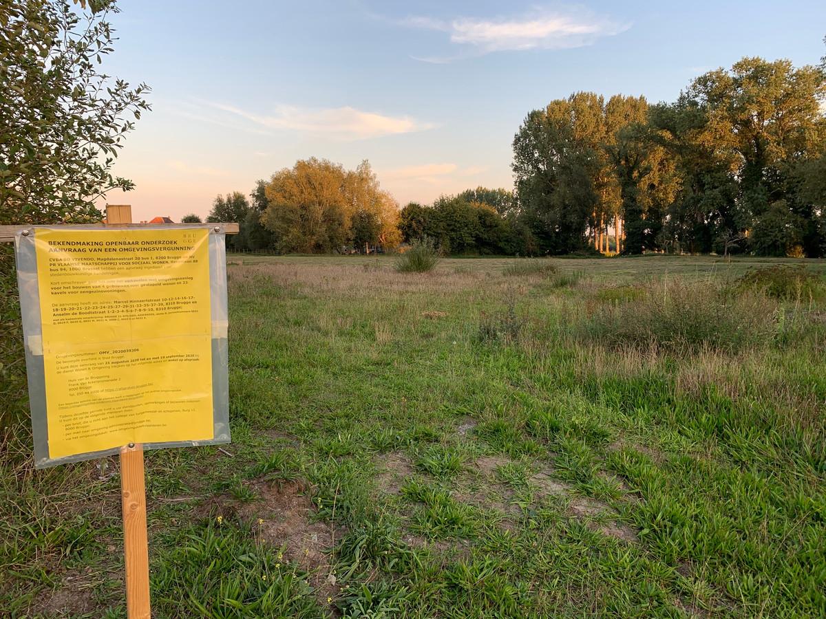 Tegen de vergunning voor het woonproject Mispelaar in Assebroek heeft Vlaanderen beroep aangetekend.