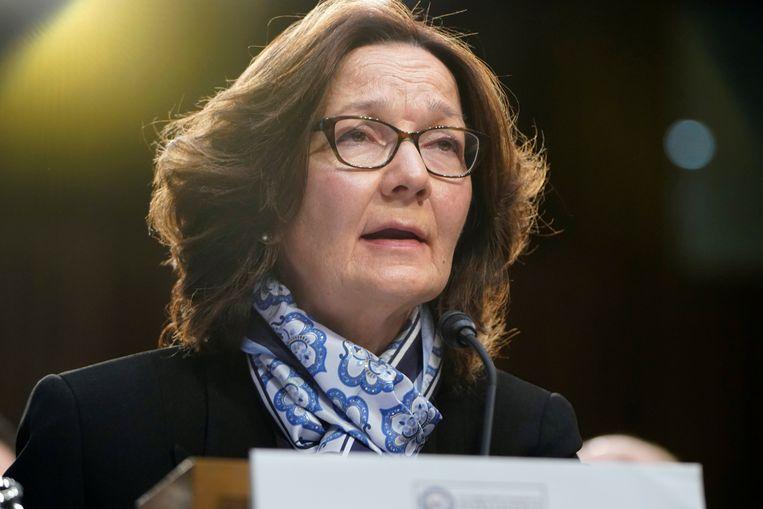 CIA-directeur Gina Haspel.