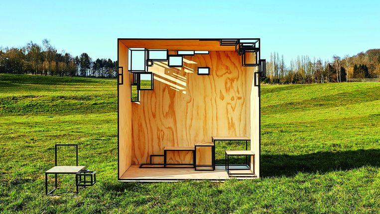 Het ontwerp van Filip Janssens. Beeld rv