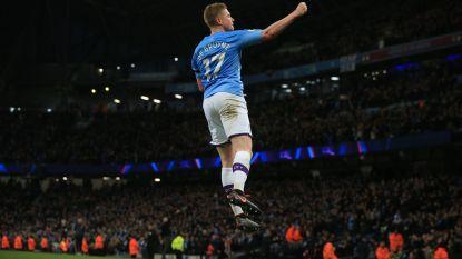 De Bruyne verlost Man City tegen Sheffield United met assist, met hulp van ref, én goal