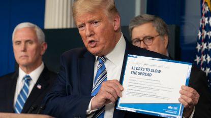 """WHO voorspelt dat Amerika nieuw epicentrum van pandemie wordt, Trump wil strenge maatregelen """"heel snel"""" terugdraaien"""
