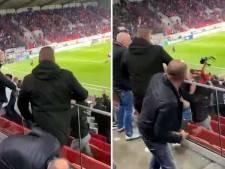 Antwerp-fan gooit rollator naar Duitse supporters