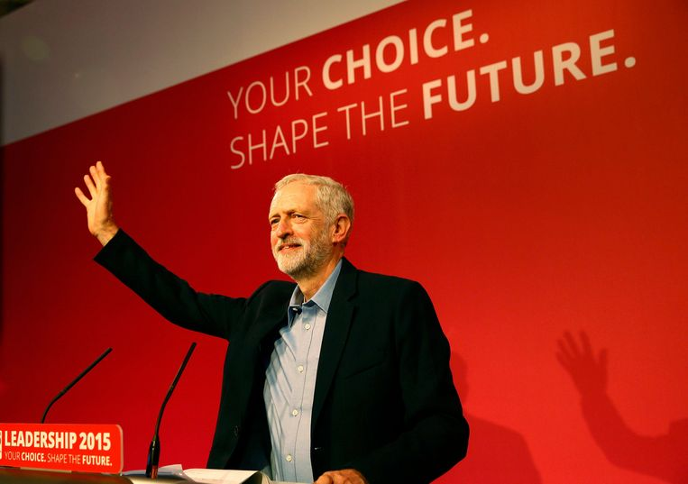 Jeremy Corbyn Beeld REUTERS