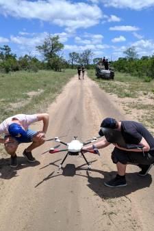 Bredase studenten ontwikkelen drone waarmee wilde dieren in Afrika worden opgespoord