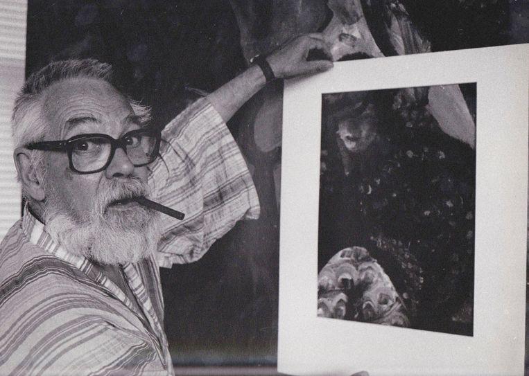 1984, portret van Cees Bantzinger. Beeld Willem van Breda