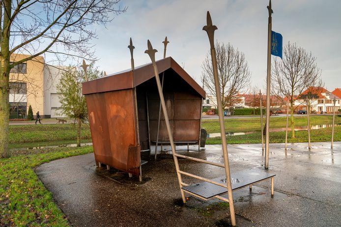 Ontmoetingsplek Kasteelpark in Empel.