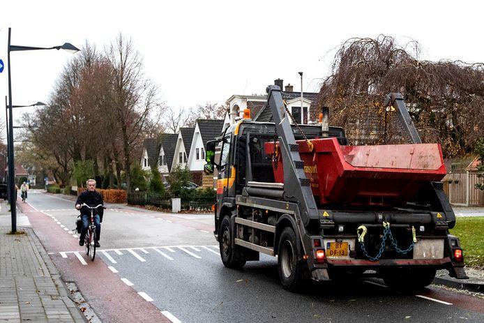 De Jan Hooglandstraat gaat op de schop en daarbij wordt rekening gehouden met blinden en slechtzienden.