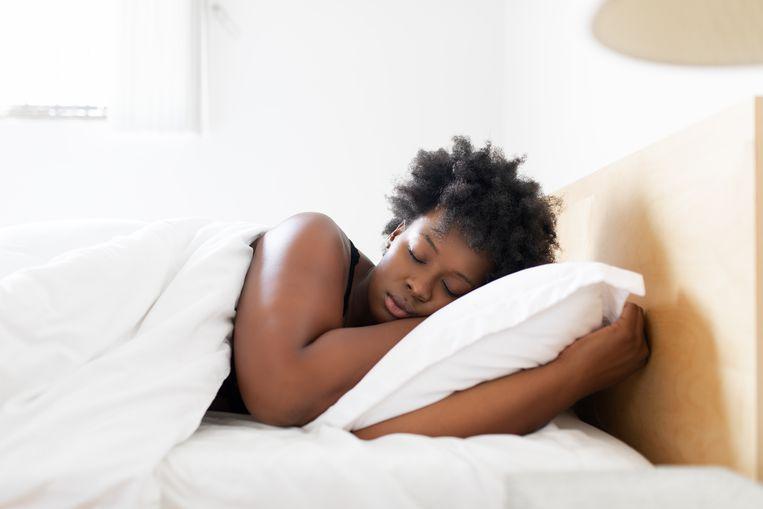 Slapende vrouw. Beeld Getty Images