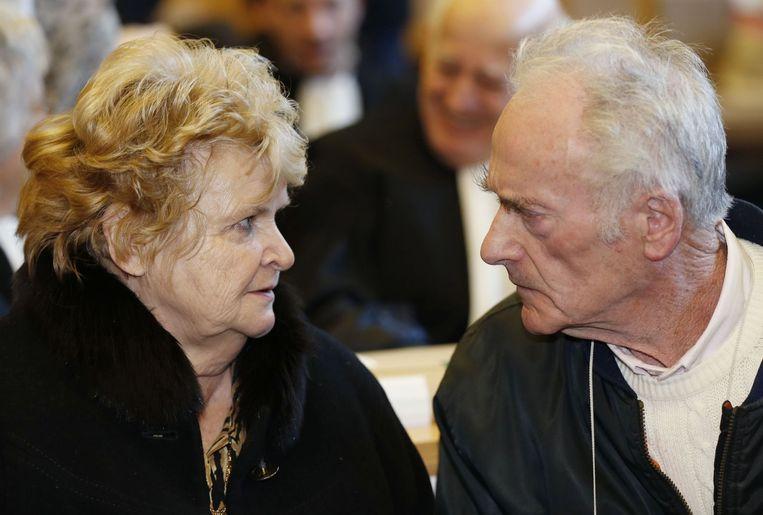 De elektricien Pierre Le Guennec, en diens vrouw Danielle Le Guennec. Beeld afp