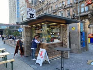 """Woodpecker neemt kiosk op De Brouckèreplein in handen: """"Geïnspireerd op Times Square"""""""