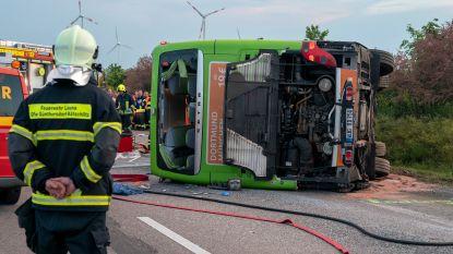 Dode en meer dan 60 gewonden bij ongeval met Flixbus in Duitsland