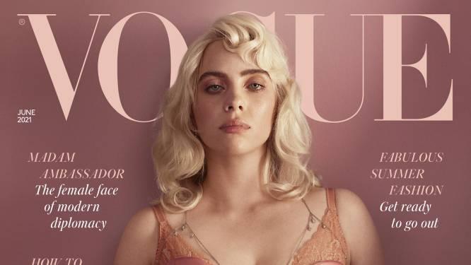 Zo zag je haar nog nooit: Billie Eilish verrast met sexy fotoshoot in Britse Vogue
