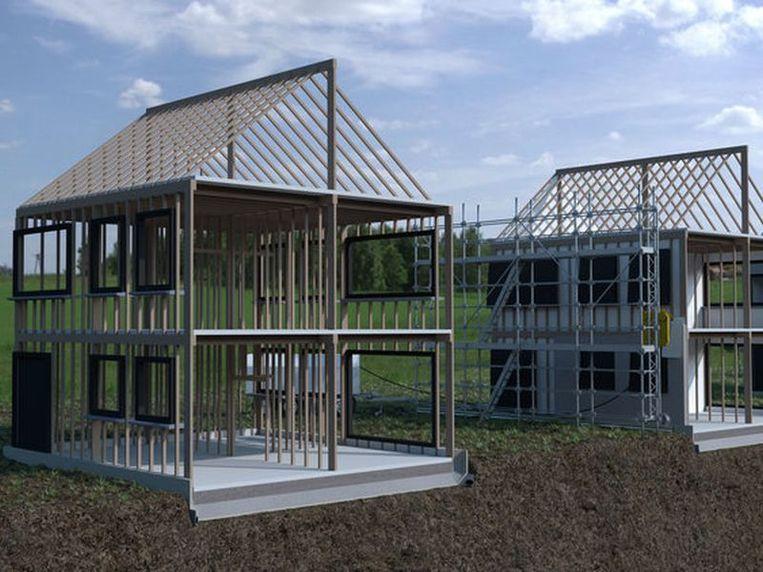 Bhaluu Construction pakt uit met een nieuwe bouwmethode die tot 35% goedkoper en tot 55% sneller is.