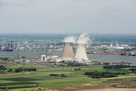 Kerncentrale in het Belgische Doel.