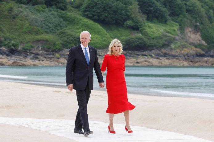 Le président américain Joe Biden et la First Lady Jill Biden
