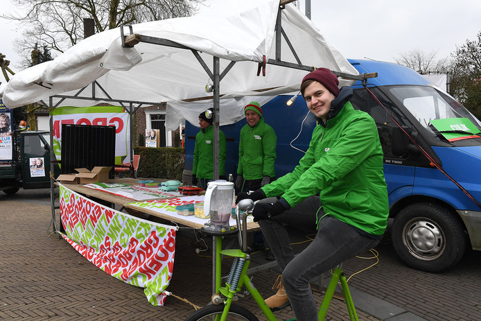Mike van Diemen was tijdens de gemeenteraadsverkiezingen vorig jaar lijsttrekker voor GroenLinks.
