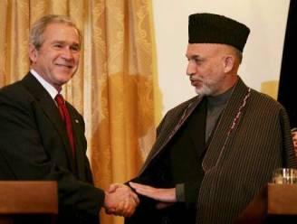 Bush waarschuwt voor lange strijd in Afghanistan