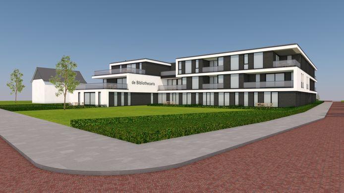 De aanstaande bouw van dit luxe appartementencomplex heeft de Stichting OCD geen windeieren gelegd. Het eigen oude onderkomen werd voor een substantieel bedrag verkocht aan de ontwikkelaar.