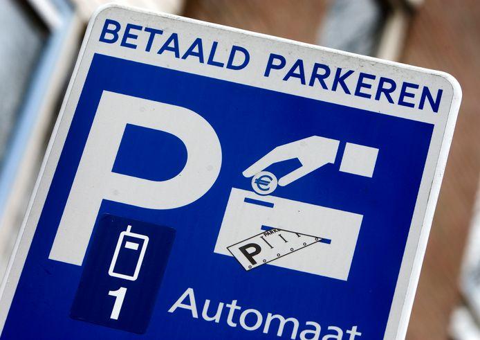 Betaald parkeren, foto ter illustratie