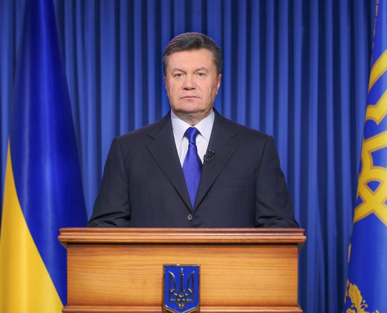 Viktor Janoekovitsj. Beeld EPA