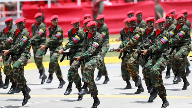 Venezuela pakte al 123 militairen op voor rebellie en verraad