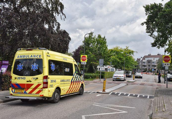 Ongeluk in Oisterwijk.