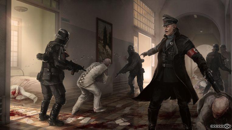 Wolfenstein. Beeld rv