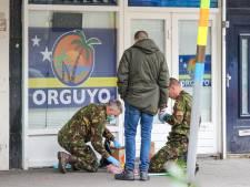 Handgranaat aan de deur van toko opgeruimd door Explosieven Opruimingsdienst