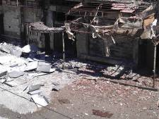 La ville de Homs pilonnée avant l'arrivée des observateurs en Syrie