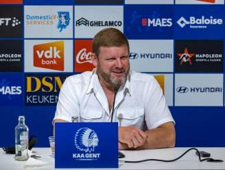 """Vanhaezebrouck wil AA Gent Europees weer op de kaart zetten: """"Alles doen om poules te halen én te overleven"""""""