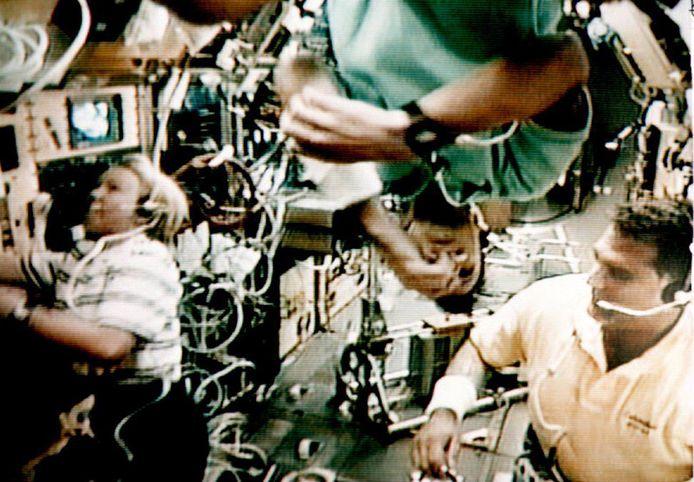 Spacelab op archieffoto uit 1993