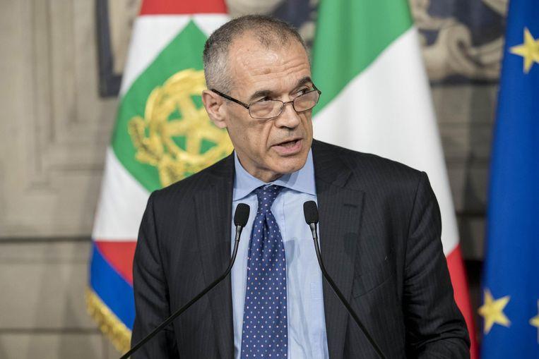 Carlo Cottarelli. Beeld EPA
