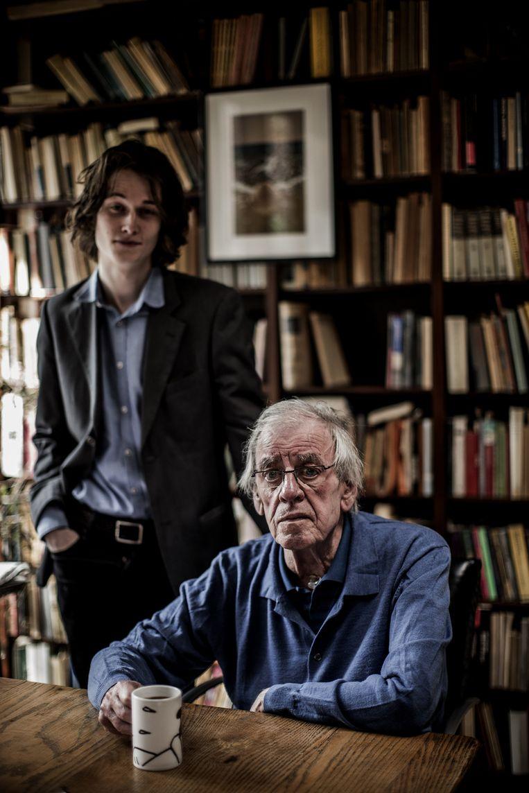 Yannick Dangre en Jeroen Brouwers. Beeld Diego Franssens