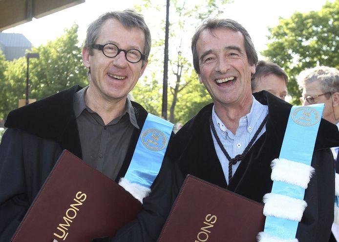 """Jamy et Fred, les deux célèbres animateurs de """"C'est pas sorcier"""""""