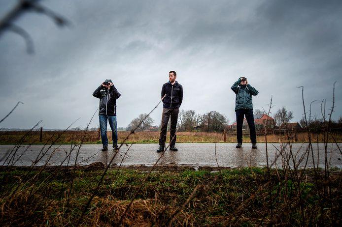 Bert van Haaften, Daniël Joppe en Ries van Griensven