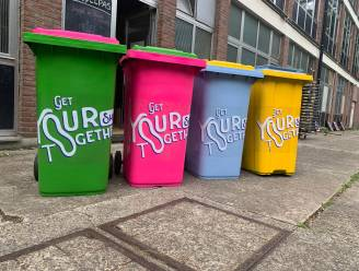 'Get Your Sh*t Together', nieuwe vuilbakken kleuren het Warandepark